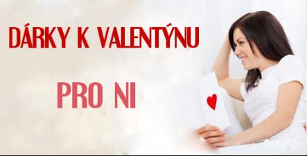 Dárky k Valentýnu pro ni