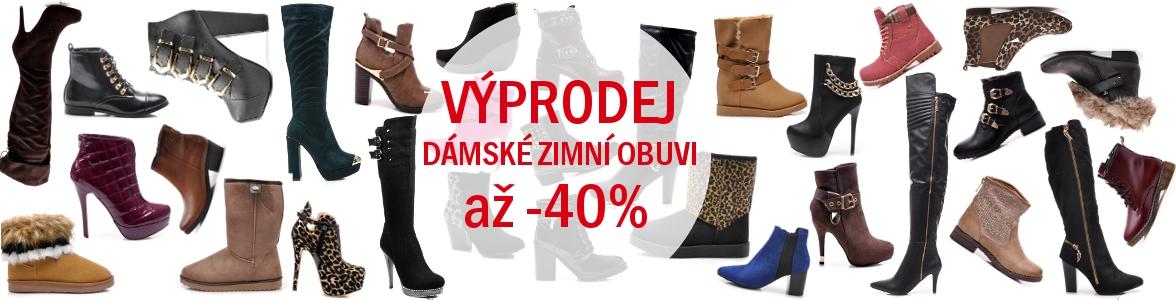 6e5598e74ac Velký povánoční výprodej dámské zimní obuvi za skvělé ceny!