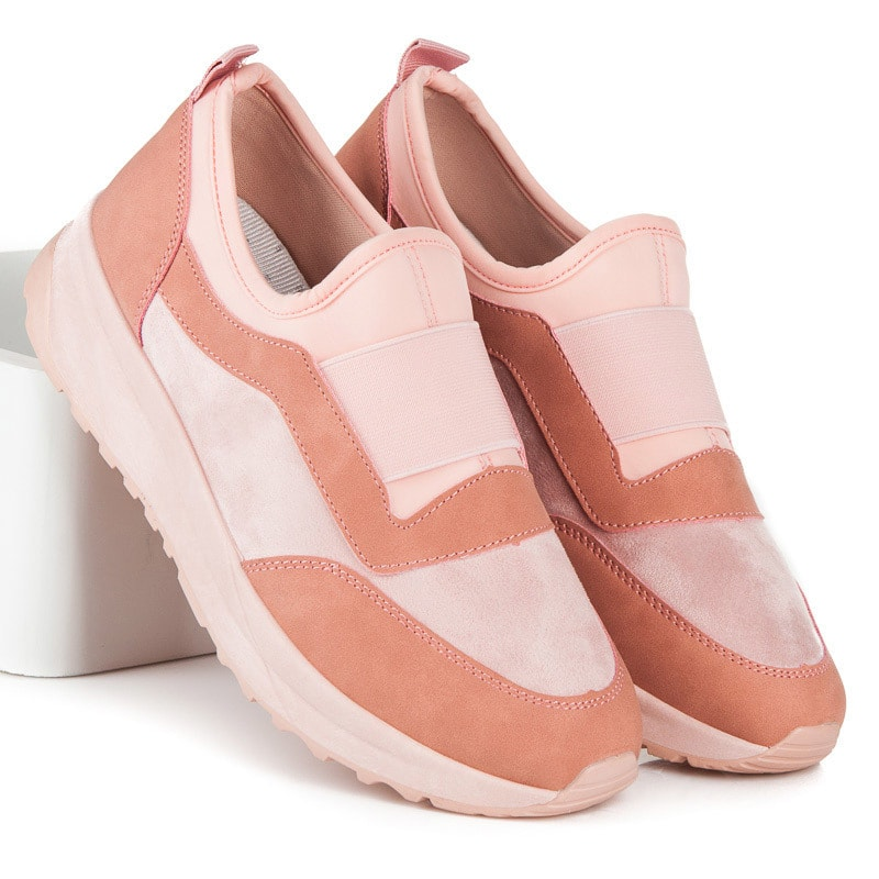 jiny Růžové sportovní boty slip on - 36