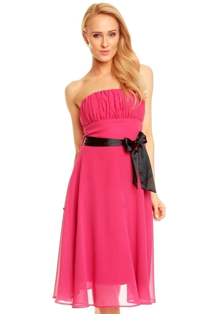 Mayaadi Dívčí společenské šaty růžové - 38