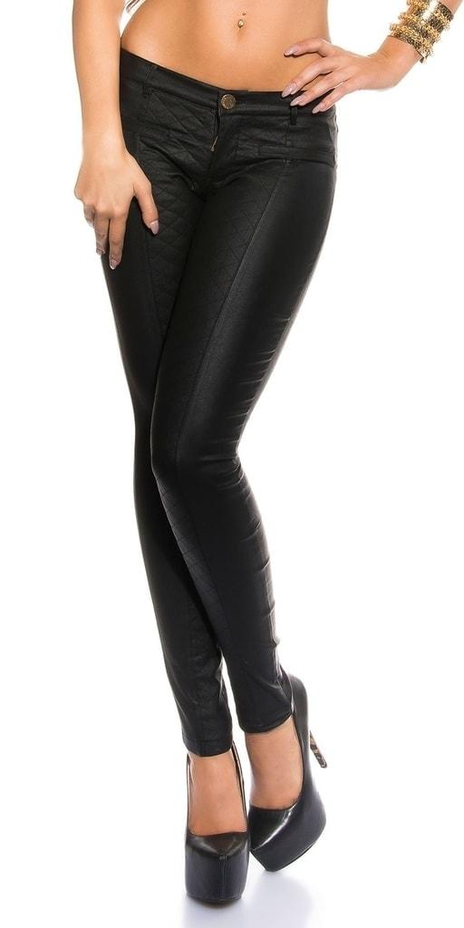 Koucla Dámské kalhoty černé - S
