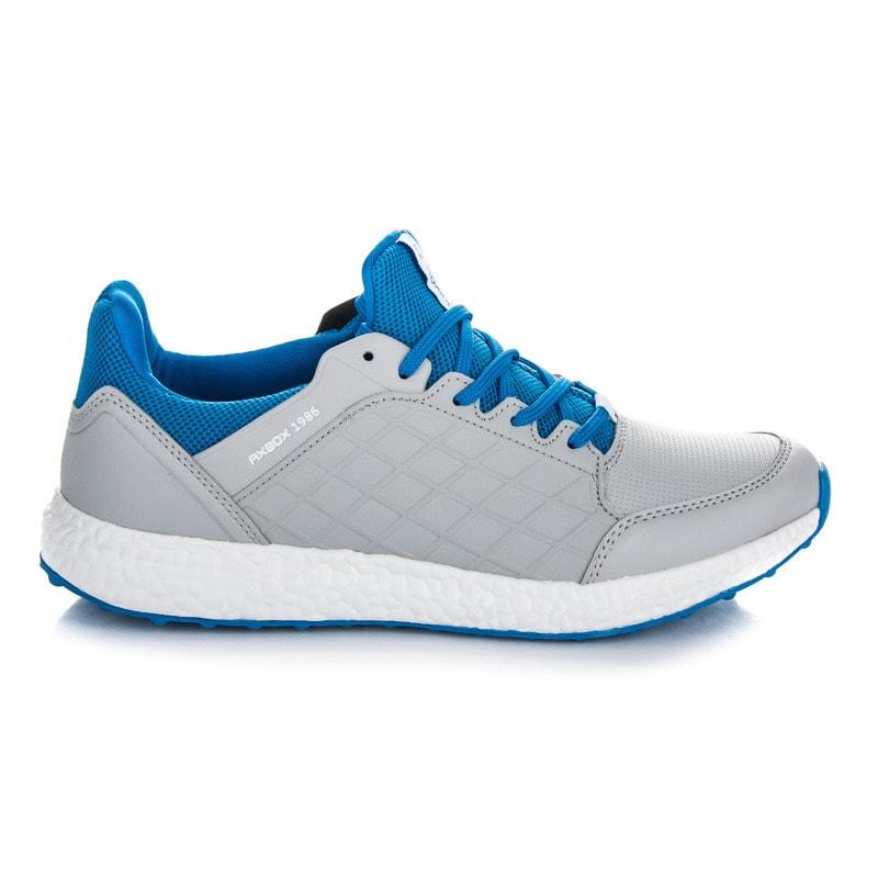 AX Boxing Pánské sportovní boty šedé - 43