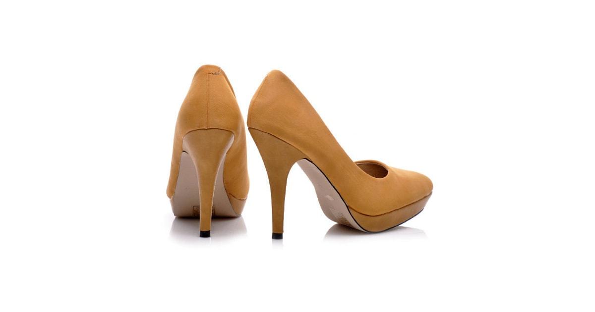 9e6f0ccb301 Pohodlné boty na podpatku - BALADA - Lodičky