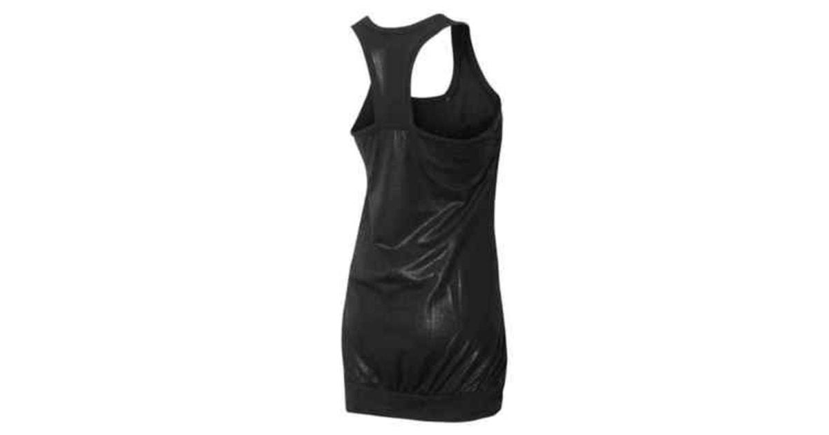 592815c1f57 Dámské černé sportovní šaty adidas Originals F NIGHT DRESS - Adidas -  Sportovní soupravy