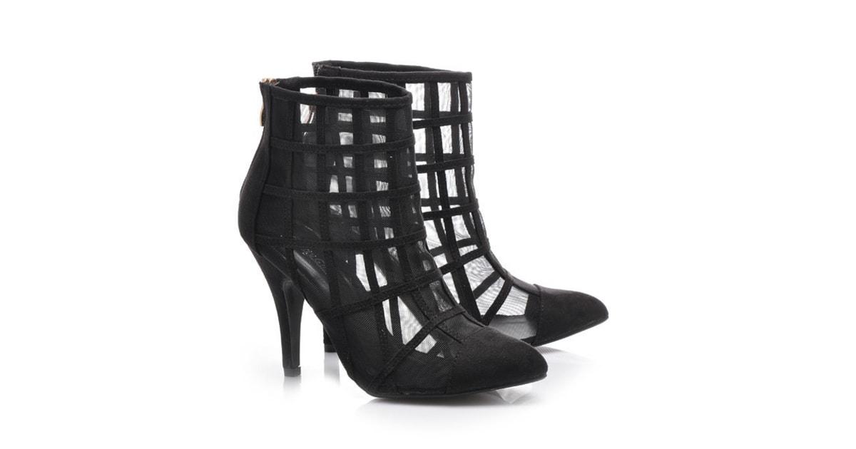 9de4bbe845e Síťované boty - Belle Women - Kotníčkové boty