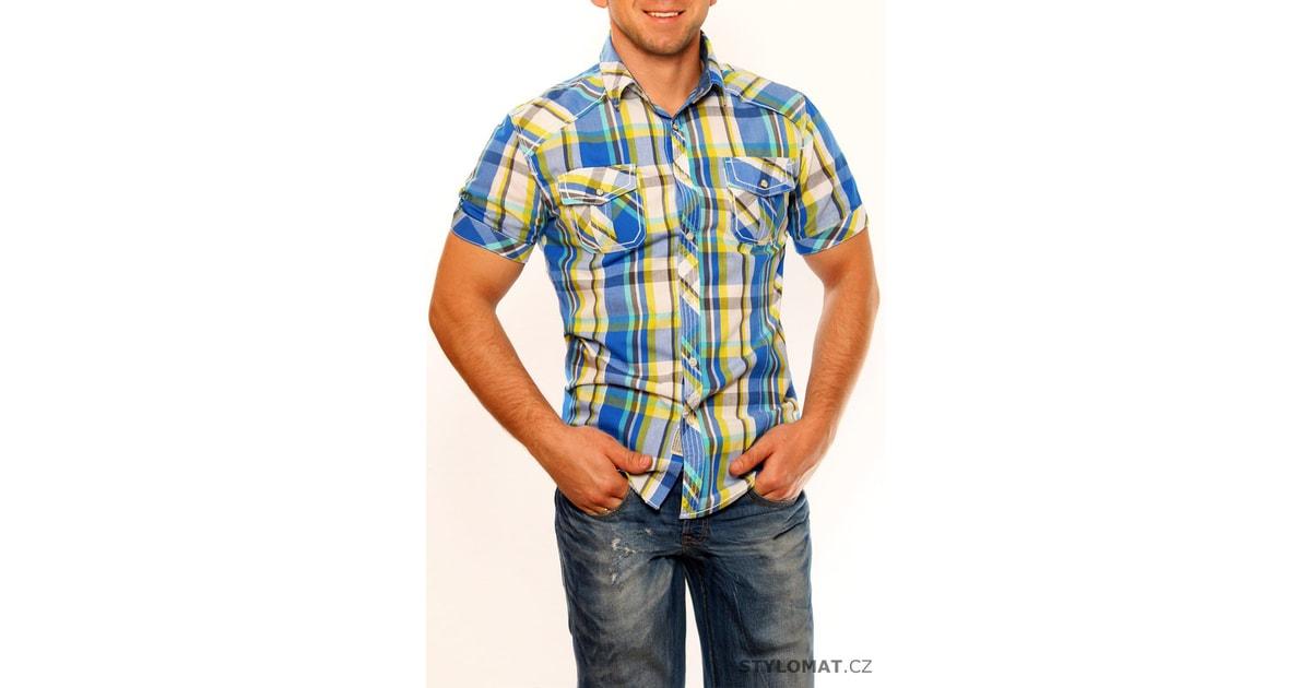 Pánské kostkované košile c06ff6beb8