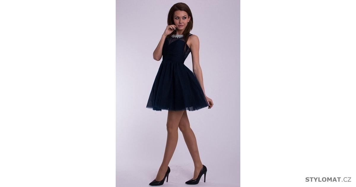 Eva a Lola modré šaty - Eva Lola - Party a koktejlové šaty c57a92c4c6