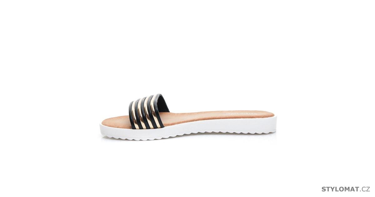 28f5152e25e Dámské módní pantofle - SERGIO TODZI - Pantofle a žabky