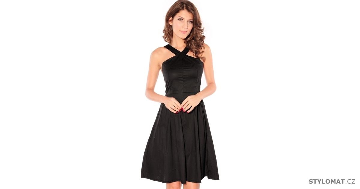 Dámské černé elegantní šaty - Damson - Party a koktejlové šaty 87fe7c1569