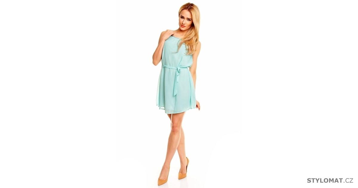 4e2e7107faa Dámské světle modré šaty v antickém stylu - Best Emilie - Party a koktejlové  šaty