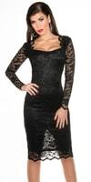Společenské šaty - černé