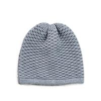 Jednoduchá zimní čepice šedá