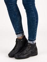 Sportovní dámské botky černé