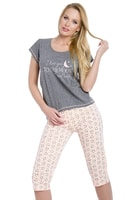 Dámské pyžamo Rika šedé