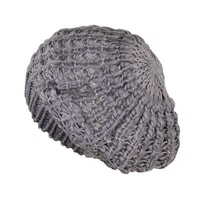 Lehký baret šedý