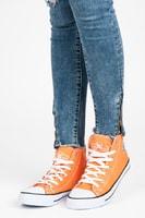 Vysoké trampky new age oranžové