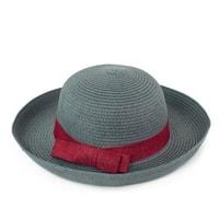 Elegantní klobouk na léto šedivý