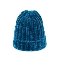 Dětská teplá zimní čepice modrá