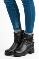 Dámské kotníkové boty černé