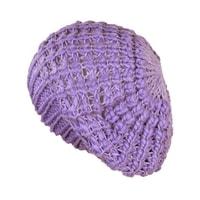 Lehký baret světle fialový