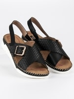 Pohodlné sandály vices černé