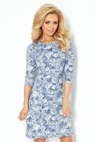 Modré dívčí šaty