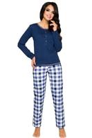 Dámské pyžamo Nati modré