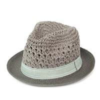 Měkký trilby klobouk šedý