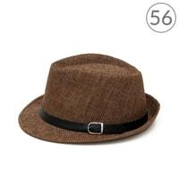 Letní klobouk Trilby Classic hnědý