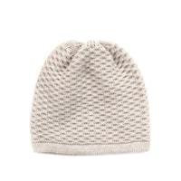 Jednoduchá zimní čepice béžová