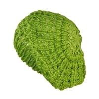 Lehký baret zelený