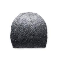 Dvoubarevná šedá dámská čepice