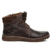 Pánské zimní boty hnědé