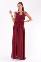 Rudé dlouhé šaty