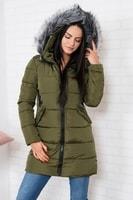 Zimní dámská bunda s kapucí
