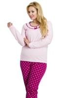 Dámské pyžamo Ismena růžové nadměrná
