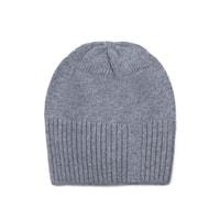 Zimní čepice s kašmírem šedá