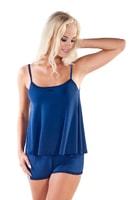 Letní dámské pyžamo Madam modré