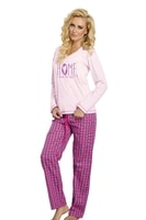 Dámské pyžamo Larisa růžové