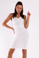 Letní bílé sexy šaty s ramínkama 5d73c9c7c9