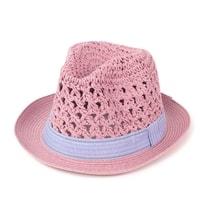 Měkký trilby klobouk růžový