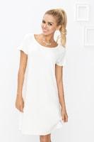 Bílá noční košilka Flora