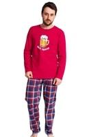 Pánské pyžamo Honza s pivem dlouhé