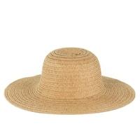 Dámský plážový klobouk karamelový
