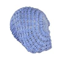 Lehký baret světle modrý