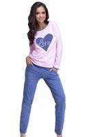 Dámské pyžamo Rozarka růžové