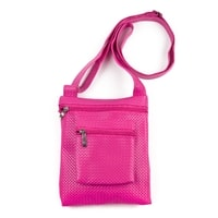 Malá crossbody kabelka růžová