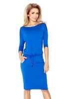 Sportovní šaty v modré barvě