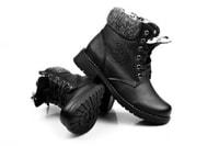 Zateplené dámské zimní boty