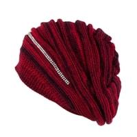Trendy zimní čepice červená